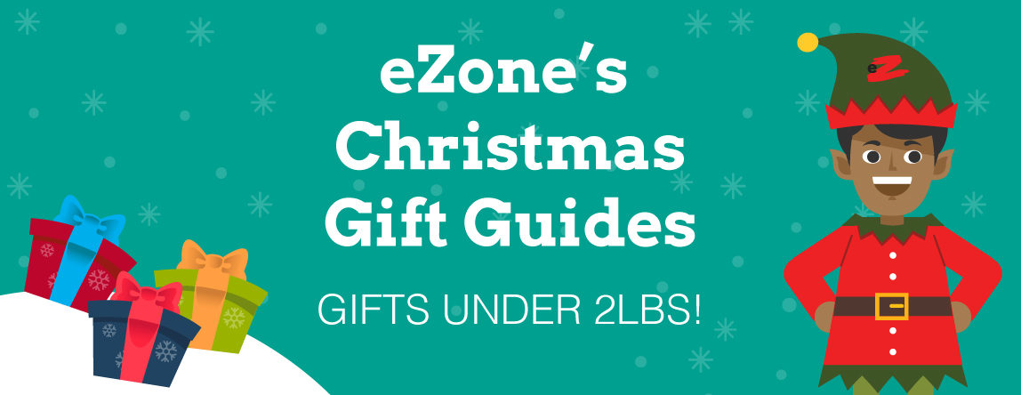 eZone's Christmas Gift Guide – Gifts Under 2lbs!