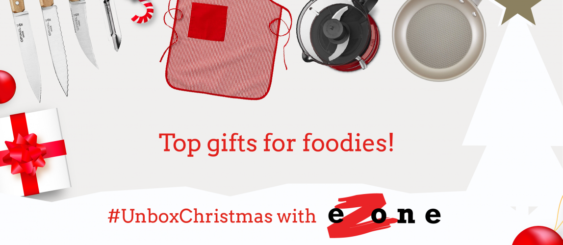 eZone's Gift Guide – Top Gifts For Foodies!